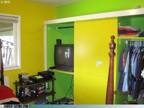 bedroom,neon,paint