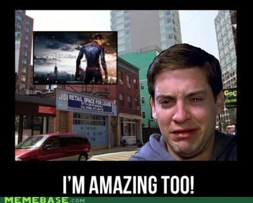 amazing,Memes,remake,Spider-Man,toby maguire