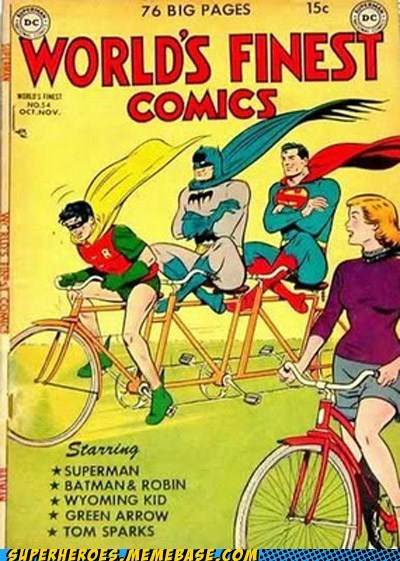 batman jerks robin Straight off the Straight off the Page superman - 6397234176