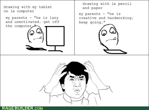 computer drawing Rage Comics wtf - 6397557760