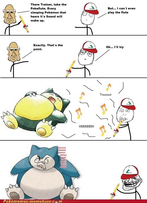 pokefule rage comic Rage Comics snorlax troll - 6397593600