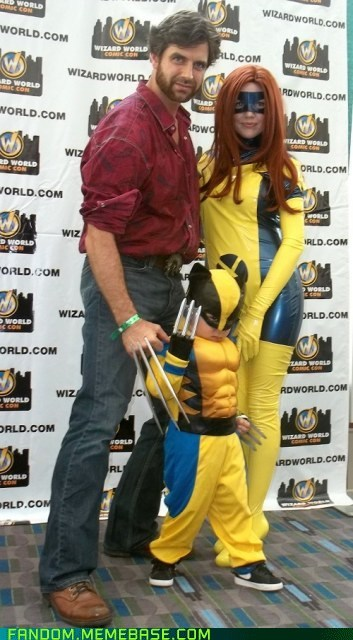 comics,cosplay,cute,kids,marvel,superheroes,wolverine