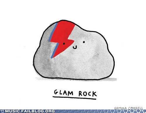 david bowie glam glam rock pun - 6398159872