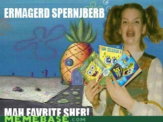 cartoons derp Ermahgerd krabby patties SpongeBob SquarePants - 6398228736