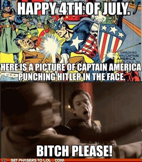 america arthur darvill btch-please captain america comic hitler punching rory williams superhero - 6398294016