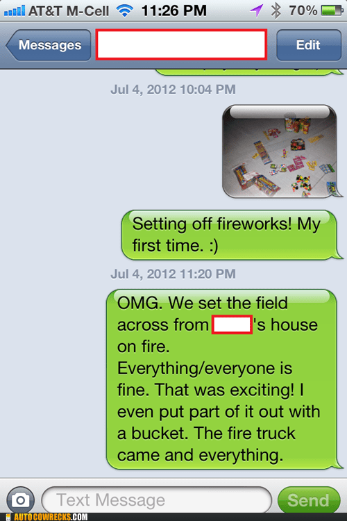 dangerous,field on fire,fireworks,first time
