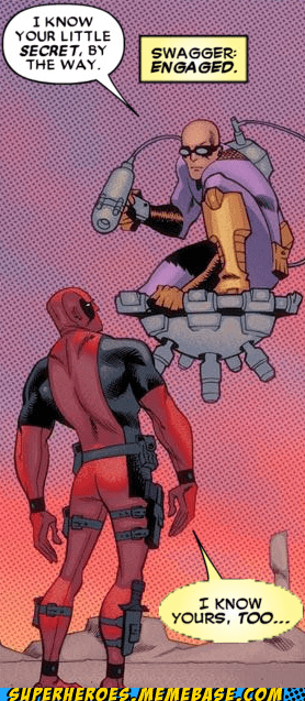 deadpool lying secret Straight off the Straight off the Page wtf - 6398480640