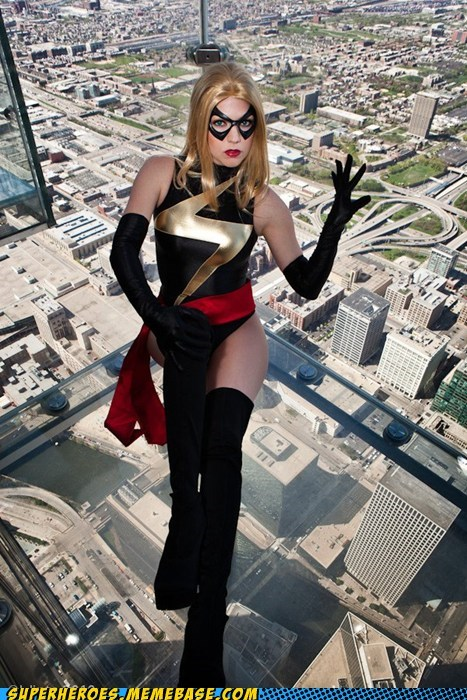 costume ms marvel Sexy Ladies Super Costume - 6398550272