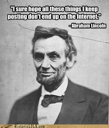 abraham lincoln internet lincoln Photo president quote