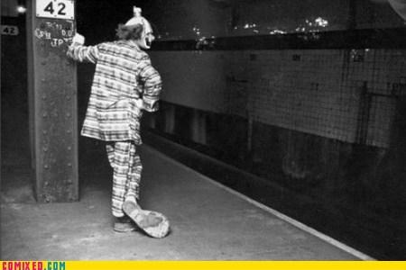 clown creepy nightmare fuel vintage wtf - 6398737920