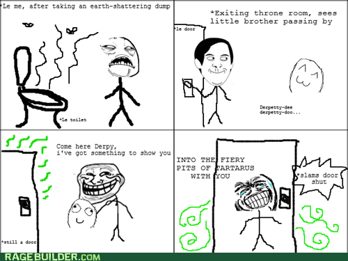 pooptimes Rage Comics siblings spiderpman - 6398767616