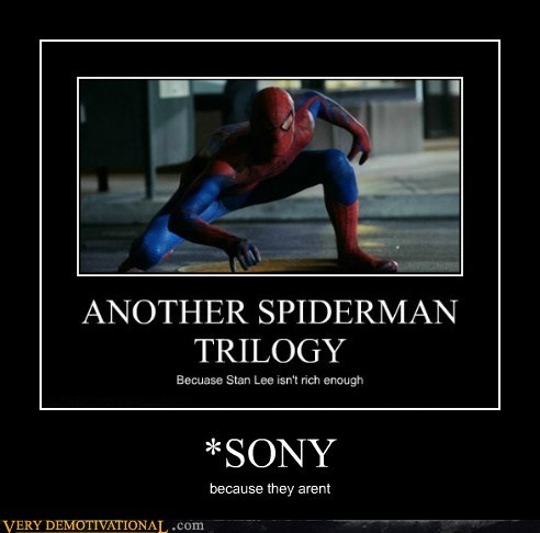 hilarious,Sony,Spider-Man