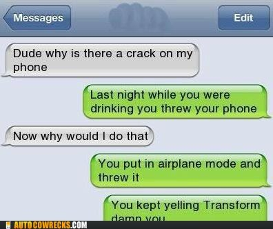 airplane mode,deceptacon,threw your phone,transform,transformers