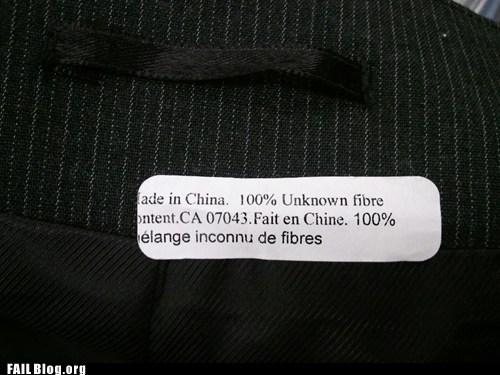 China fiber made in china mysterious Unknown - 6399340288