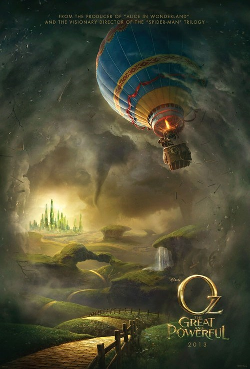 movie poster os: the great and powerfu os-the-great-and-powerful wizard of oz wizard of oz prequel - 6399365120