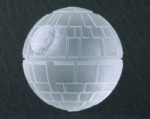 Death Star ice cubes star wars