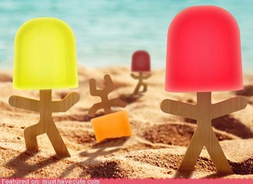 lollipop men popsicle sticks - 6399516160