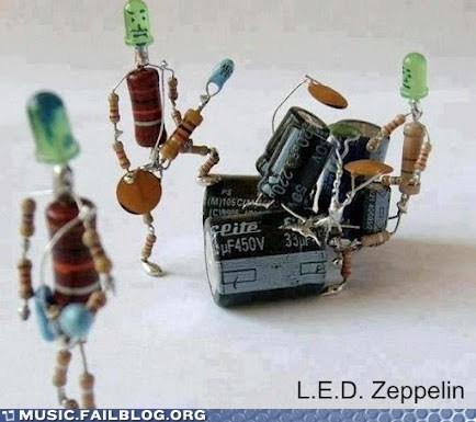 battery l-e-d-zeppelin led zeppelin light pun - 6399587072