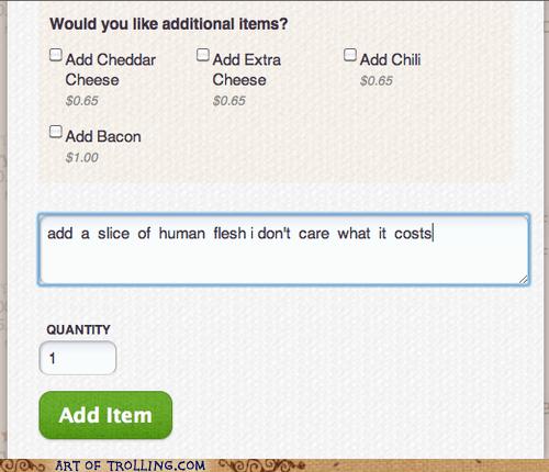 cannibal human flesh pizza - 6399652352