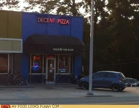 decent pizza underwhelming - 6399734016