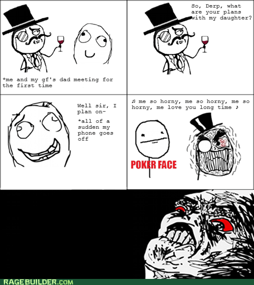 dating,poker face,Rage Comics,raisin rage,relationships