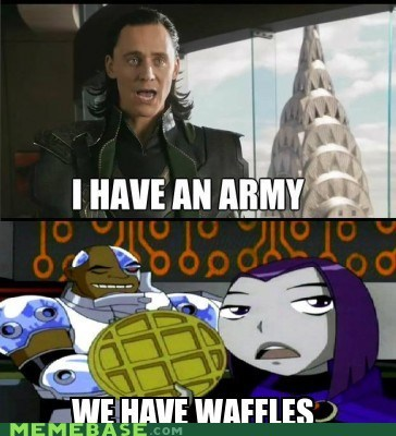 loki,army,waffles,young justice