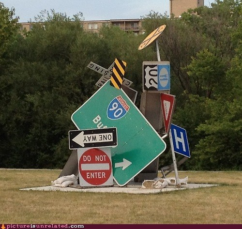 confusion street signs wtf - 6399955200