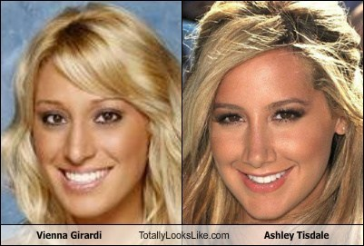 actor Ashley Tisdale funny TLL vienna girardi