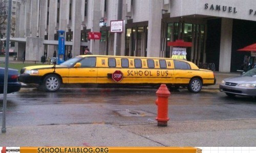 limo private school rich kids school bus - 6400128000