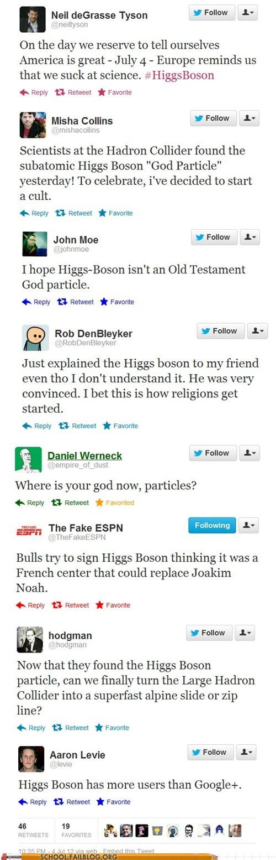higgs boson Neil deGrasse Tyson reactions twitter - 6400279808