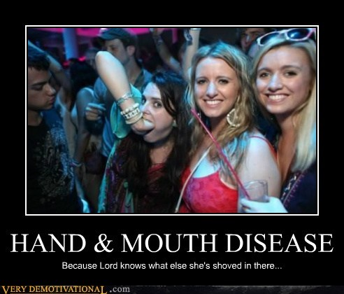 disease,eww,hand,hilarious,mouth,wtf
