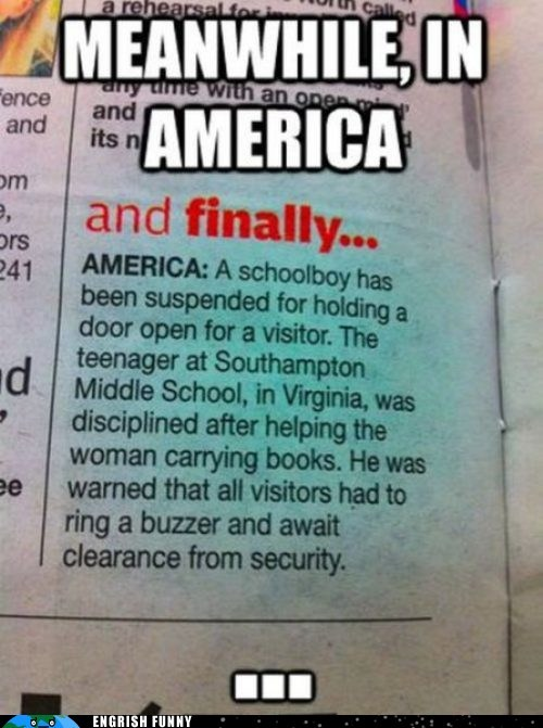 america kindness meanwhile in america Murika
