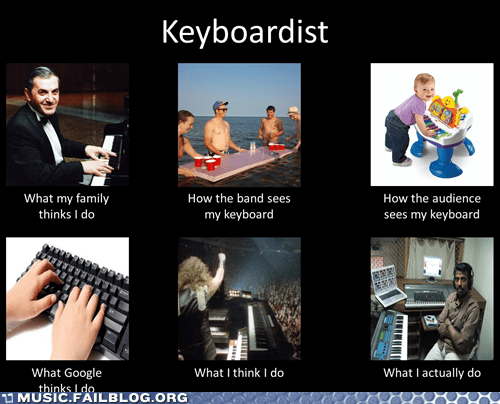 keyboard,keyboardist,what people think i do