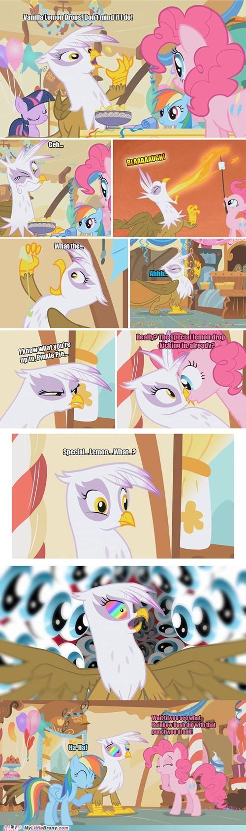 comic comics gilda lemon drops pinkie pie - 6400416512