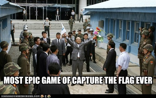capture the flag dmz North Korea political pictures south korea - 6400689664