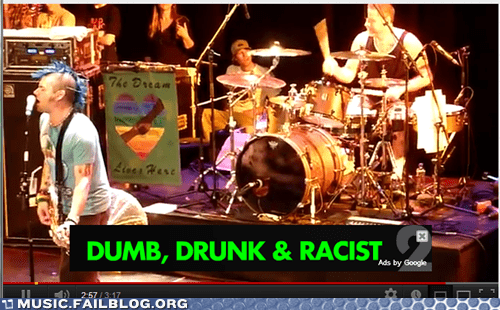 Ad drunk dumb fat mike NOFX youtube youtube ad - 6401035776