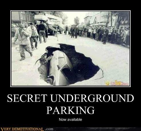 car hilarious parking underground wtf - 6401407744