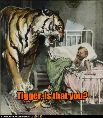 baby,bedroom,christopher robin,tiger,tigger
