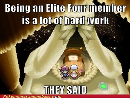 blackwhite,elite four,Memes,They Said