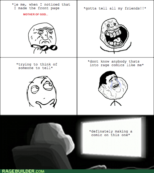 comics forever alone mother of god Rage Comics