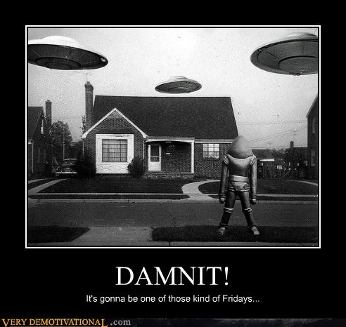 crap dammit robot ufo