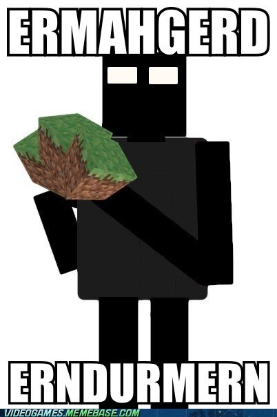 derp enderman Ermahgerd meme minecraft - 6401978880