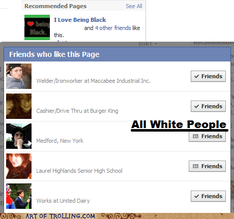 black,facebook,racist,white