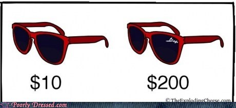branding comic fashion sunglasses - 6402424576