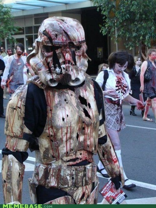 cosplay monster scifi star wars stormtrooper zombie - 6402473984