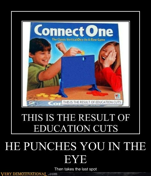 connect four eye game punch hilarious