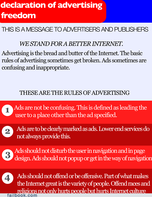ads,advertising,declaration of advertisin,declaration of advertising freedom