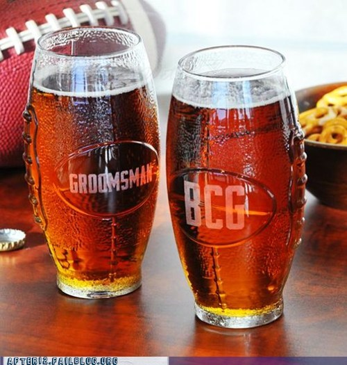 bcg,football,football season,groomsman,power goblets,unique daily