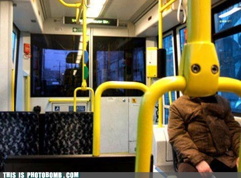 awesome blank bus position stare