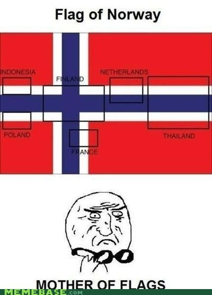 flags king flag Memes mother of god Norway - 6402787072